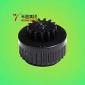 阻尼齿轮HCL-19组件/ABS+PC+POM+SR-黑色