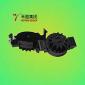 阻尼齿轮HCL-10组件/PC+POM+SR-黑色