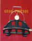 械车轮轮径测量尺